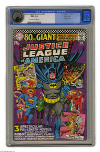 Justice League of America #48 Pacific Coast pedigree (DC, 1966) CGC NM+ 9.6 Off-white to white pages. This issue, also k...