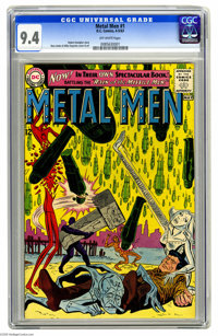Metal Men #1 (DC, 1963) CGC NM 9.4 Off-white pages. When the Metal Men got their own comic, DC wisely kept the same crea...
