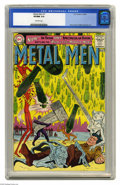 Silver Age (1956-1969):Superhero, Metal Men #1 (DC, 1963) CGC VF/NM 9.0 Off-white pages. A surprise hit with fans, the lovable Metal Men earned the right to s...
