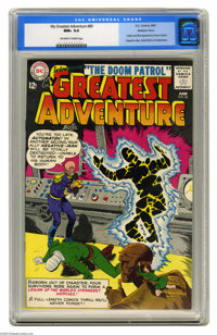 My Greatest Adventure #80 Western Penn pedigree (DC, 1963) CGC NM+ 9.6 Off-white to white pages. Here's the very first a...