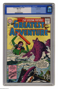 My Greatest Adventure #81 Western Penn pedigree (DC, 1963) CGC NM+ 9.6 Off-white pages. The second appearance of the Doo...