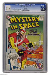 Mystery in Space #59 (DC, 1960) CGC VF+ 8.5 White pages. Gil Kane cover. Murphy Anderson, Carmine Infantino, and Sid Gre...