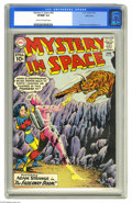 Silver Age (1956-1969):Science Fiction, Mystery in Space #68 Bethlehem pedigree (DC, 1961) CGC VF/NM 9.0Cream to off-white pages. First appearance of the Dust Devi...