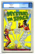 """Silver Age (1956-1969):Science Fiction, Mystery in Space #71 Bethlehem pedigree (DC, 1961) CGC VF/NM 9.0White pages. Carmine Infantino art. CGC notes, """"Date stamp ..."""