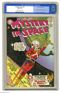 Mystery in Space #90 (DC, 1964) CGC NM+ 9.6 Off-white to white pages. Carmine Infantino did just three more covers for t...