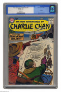 "Silver Age (1956-1969):Mystery, The New Adventures of Charlie Chan #6 (DC, 1959) CGC VF/NM 9.0Off-white pages. Last issue of the title, ""scarce"" according ..."