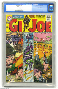Showcase #53 G.I. Joe - Pacific Coast pedigree (DC, 1964) CGC NM+ 9.6 Off-white to white pages. Could this book be any m...