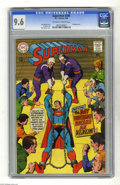 Silver Age (1956-1969):Superhero, Superman #206 (DC, 1968) CGC NM+ 9.6 Off-white to white pages. Neal Adams cover. Al Plastino art. Bondage cover. Overstreet ...