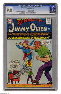 Superman's Pal Jimmy Olsen #90 (DC, 1966) CGC NM/MT 9.8 Off-white pages. Jimmy Olsen on steroids? No, the hulking fellow...