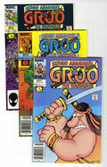 Modern Age (1980-Present):Humor, Groo the Wanderer Group (Marvel, 1985-89) Condition: AverageVF+.... (Total: 50 Comic Books)
