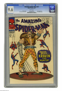 The Amazing Spider-Man #47 (Marvel, 1967) CGC NM+ 9.6 White pages. School bully turned swell guy Flash Thompson is headi...