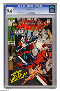 The Amazing Spider-Man #101 (Marvel, 1971) CGC NM+ 9.6 Off-white to white pages. This issue has the first appearance of...