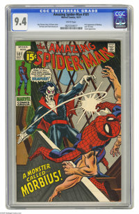 The Amazing Spider-Man #101 (Marvel, 1971) CGC NM 9.4 White pages. No sooner did the Comics Code relax its standards to...
