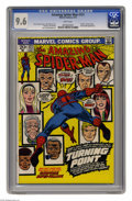 Bronze Age (1970-1979):Superhero, The Amazing Spider-Man #121 (Marvel, 1973) CGC NM+ 9.6 White pages. Who could ever forget this issue? It's pure gold, starti...