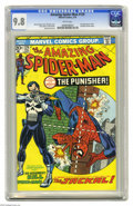 Bronze Age (1970-1979):Superhero, The Amazing Spider-Man #129 (Marvel, 1974) CGC NM/MT 9.8 White pages. Here's the nicest copy you're going to find of one of ...