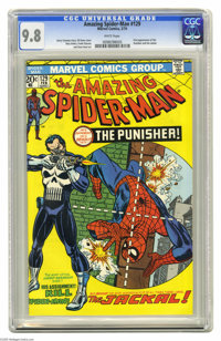 The Amazing Spider-Man #129 (Marvel, 1974) CGC NM/MT 9.8 White pages. Here's the nicest copy you're going to find of one...