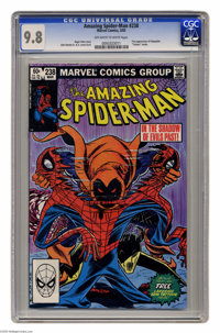 The Amazing Spider-Man #238 (Marvel, 1983) CGC NM/MT 9.8 Off-white to white pages. First appearance of the Hobgoblin. Co...