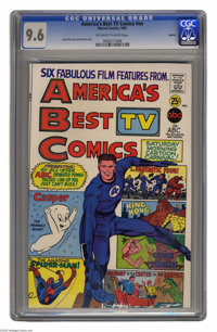 America's Best TV Comics #1 Boston pedigree (Marvel, 1967) CGC NM+ 9.6 Off-white to white pages. Promoted new cartoon sh...