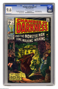 Chamber of Darkness #4 (Marvel, 1970) CGC NM+ 9.6 Off-white to white pages. Featuring the Conan-like character Starr the...