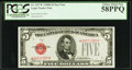 Fr. 1527* $5 1928B Legal Tender Note. PCGS Choice About New 58PPQ