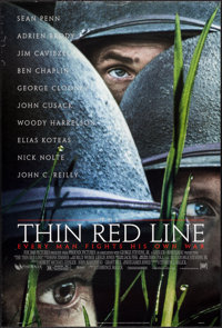 """The Thin Red Line & Other Lot (20th Century Fox, 1998). One Sheets (2) (27"""" X 40"""") SS. War. ... (Total..."""