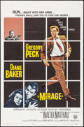"""Movie Posters:Mystery, Mirage & Other Lot (Universal, 1965). One Sheets (2) (27"""" X41"""", 40""""). Mystery.. ... (Total: 2 Items)"""