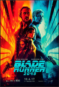 """Blade Runner 2049 (Warner Brothers, 2017). One Sheet (27"""" X 40"""") DS Advance. Science Fiction"""