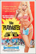 """Movie Posters:Adult, The Playmates in Deep Vision 3-D (Phantasy, 1973). One Sheet (28"""" X 42""""). Adult.. ..."""