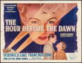 """Movie Posters:War, The Hour Before the Dawn (Paramount, 1944). Half Sheet (22"""" X 28"""").War.. ..."""