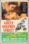"""Movie Posters:Adventure, Green Dolphin Street (MGM, 1947). Folded, Fine-. One Sheet (27"""" X41""""). Adventure.. ..."""