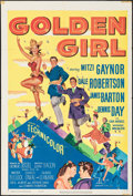 """Movie Posters:Musical, Golden Girl (20th Century Fox, 1951). One Sheet (27"""" X 41""""). Musical.. ..."""