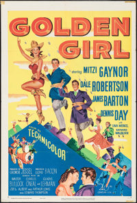"Golden Girl (20th Century Fox, 1951). One Sheet (27"" X 41""). Musical"