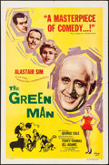 """Movie Posters:Comedy, The Green Man (British Lion, 1956). One Sheet (27"""" X 41""""). Comedy.. ..."""