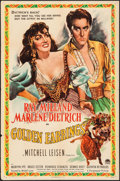 """Movie Posters:Romance, Golden Earrings (Paramount, 1947). One Sheet (27"""" X 41""""). Romance.. ..."""