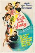 "Movie Posters:Comedy, A Date with Judy (MGM, 1948). One Sheet (27"" X 41""). Comedy.. ..."