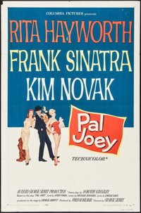 "Pal Joey (Columbia, 1957). One Sheet (27"" X 41""). Musical"