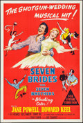 "Movie Posters:Musical, Seven Brides for Seven Brothers (MGM, 1954). Australian One Sheet(27"" X 40""). Musical.. ..."