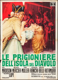 "Movie Posters:Exploitation, Women of Devil's Island (Columbia, 1962). Italian 2 - Fogli (39.25"" X 55""). Alfredo Capitani Artwork. Exploitation.. ..."
