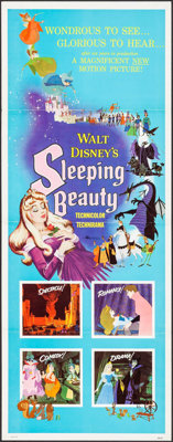 "Sleeping Beauty (Buena Vista, 1959). Insert (14"" X 36""). Animation"