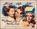 "Movie Posters:Film Noir, The Strange Love of Martha Ivers (Paramount, 1946). Half Sheet (22"" X 28""). Film Noir.. ..."