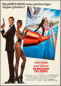 Movie Posters:James Bond, A View to a Kill (UIP, 1985). Folded, Very Fine+. ...