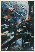 "Movie Posters:Science Fiction, Star Wars (20th Century Fox, 1977). Soundtrack Poster (22"" X 33"")John Berkey Artwork. Science Fiction.. ..."