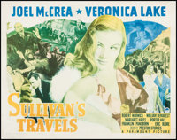 "Sullivan's Travels (Paramount, 1941). Half Sheet (22"" X 28"") Style A. Comedy"
