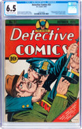 Golden Age (1938-1955):Superhero, Detective Comics #32 (DC, 1939) CGC FN+ 6.5 Cream to off-white pages....