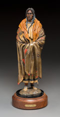 Fine Art - Sculpture, American, Michael Westergard (American, 20th Century). Traditions.Bronze with polychrome. 15 inches (38.1 cm) high on a 2-1/2 in...