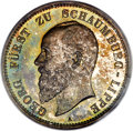 German States:Schaumburg-Lippe, German States: Schaumburg-Lippe. Albrecht Georg Proof 5 Mark 1898-APR66 PCGS,...