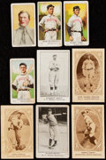 """Baseball Cards:Lots, 1909-1922 """"E"""" Caramel Cards Boston Red Sox Collection (9). ..."""