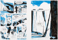 Original Comic Art:Panel Pages, Darwyn Cooke Parker: The Score Story Pages 57-58 OriginalArt (IDW, 2009)....