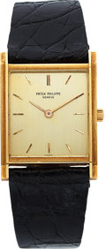 Timepieces:Wristwatch, Patek Philippe Ref. 3519 Fine Gold Wristwatch, Original Box, circa1960's. ...
