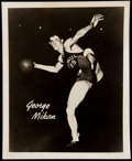 Basketball Collectibles:Photos, George Mikan Original Photograph ...